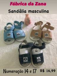 Sandália bebê masculina
