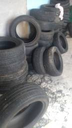 Lote de pneus 15/16 meia vida