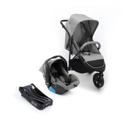 Kit Carrinho  Travel System collina Trio Grey Style Infanti