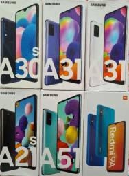 Vendo celulares na caixa Samsung Xiaomi