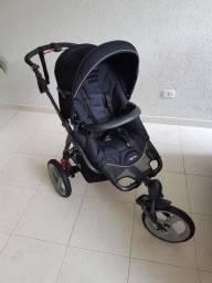 Carrinho de bebê+bebê conforto+base+coberturas+capa Parcela ML