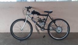 Bicicleta motorizada 80 cilindradas, semi-nova