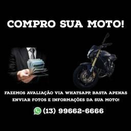 Compro sua Moto Pago a vista