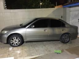 Honda civic LX 1.7 ,2005 ,16v ,115vc