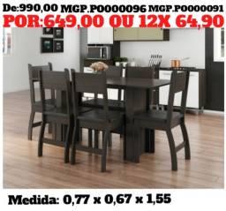 Liquida Ourinhos e Regiões - Mesa 6 Cadeiras - Direto da Fabrica