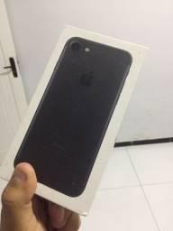 Vendo Caixa do iphone 7 Black 32gb