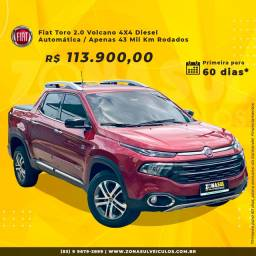 Fiat Toro 2018 Volcano - 4X4 Diesel (Apenas 43 Mil Rodados)