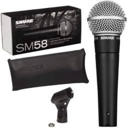 Microfone Shure Series SM58 novo na caixa