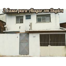 Aluguel de 2 casas em Dupléx - Barra de Jangada-JG-PE