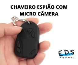 Chaveiro Espião Câmera Filmadora - Tira Foto e Filma em Sigilo