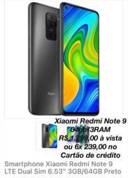 Xiaomi Redmi Note 9 64gb - celular novo lacrado na caixa- LIQUIDANDO