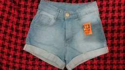 Bermuda jeans claro