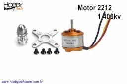 Motor Brushless 2212 1.400kv - Novo