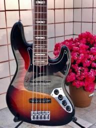 Vendo ou Troco Fender Delux 5 Cordas