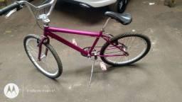 Bicicleta aro 24 semi nova
