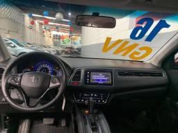 Honda Hr-v EXL Top de Linha GNV Completa Automática Couro Multimídia