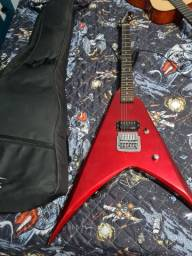 Guitarra eletrica flying V2