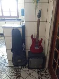 Guitarra marca Golden modelo Stratocaster