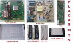 Placas de TVs (Só temos os modelos que está na descrição). Leia o Anúncio F. 98876.3162