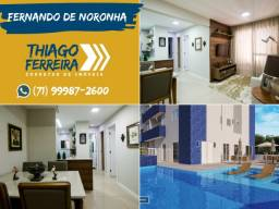 Fernando de Noronha, 2 quartos com suíte em 57m² com uma vaga de garagem