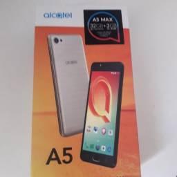 Celular Alcatel A5 Max, semi novo em perfeito estado!!! Precinho!!!