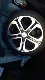 Honda Civic branco 14/15