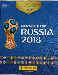 Álbum Completo Copa do Mundo 2018 Rússia.