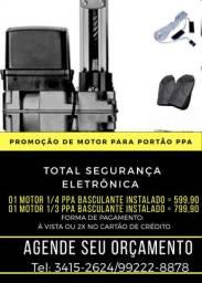 MOTOR PARA PORTÃO BASCULANTE