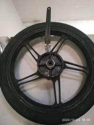Roda traseira cg fan 160 original
