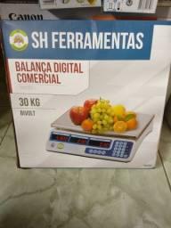 Balança digital comercial bivolt 30kg  250,00