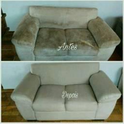 Transforme o seu sofá velho em novo, Lavagem a Seco!