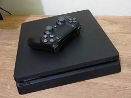 Sony PS4 SLIM 500gb e FIFA 20 (Leia Descrição)