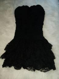 Vestido preto tamanho M