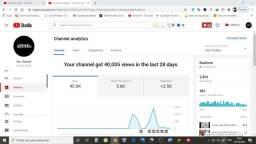 Vendo canal & youtube 2.4 k po 350 reais