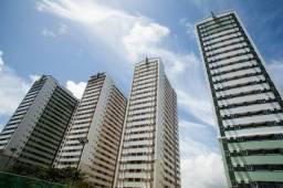 Condomínio com estrutura de lazer completa, 2 qts, sala p/ 2 amb. no Janga