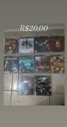 Jogos semi novos originais para PS3