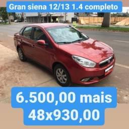 Grand Siena 12/13 1.4 completo 6.500,00 mais 48x de 930,00