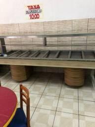 Buffet frio - restaurante - Buffet quente banho maria