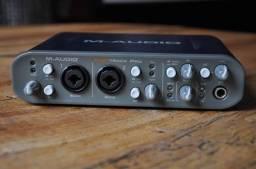 Placa de Áudio Fast Track pro