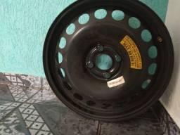 Vendo estepe aro 16 novo prisma pneu fino