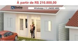 Alta Vista Campo Limpo Pta, casas em condominio , entrada parcelada , pode usar FGTS