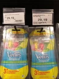 PACK 3 Depilador Vênus Tropical Gillette