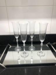 Taça para champanhe