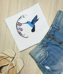 Camiseta/T-shirt Beija-Flor (M)
