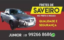 FRETES RAPIDOS DE SAVEIRO