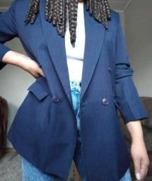 Título do anúncio: Blazer Alongado Azul marinho