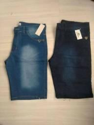 Título do anúncio: Bermuda jeans R$30 ATACADO Gravataí