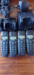 Título do anúncio: Telefone Intelbras ramais