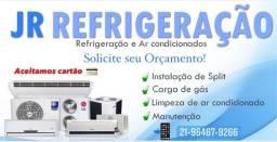 Consertos - Instalação de Ar Condicionado Split - Manutenção