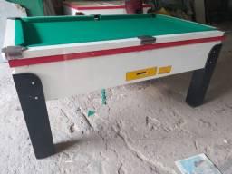 Snooker (Sinuca) nova zero com os tacos e bolas nova,Ficheiro e relógio 15 fichas,taqueira